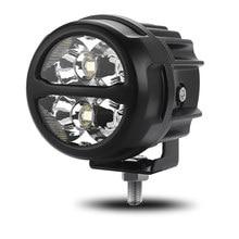 2 pçs motocicleta spotlight led trabalho luz de condução lâmpada additionl luz para niva lada motocicleta sua caminhão trator do carro 12v 24v
