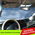 Durable Car Pleated Curtains Curtain Sun Side Window Nylon Mesh Sunshade Retractable Shield Car Sunshade Fold Curtain