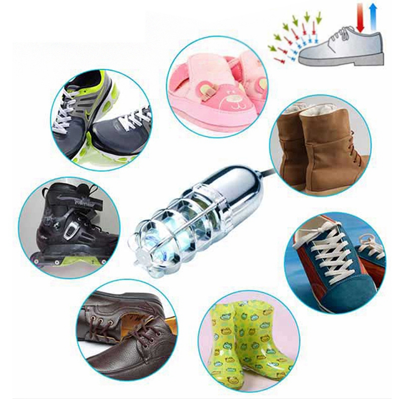 SANQ US Plug Shoes UV Dryer Heater Deodorizer Dehumidifier Cleaner in Addition to Athlete's Foot, Foot Odor and Itching