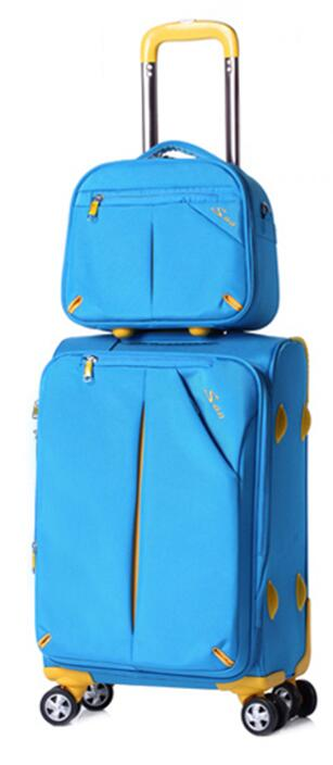 Oxford Spinner Suitcase Travel Luggage Suitcase Men Travel Rolling Luggage Sets On Wheels Travel Wheeled Suitcase Trolley Bag