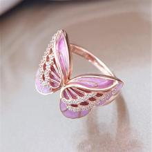 Sliver 925 Pink Ring for Women Luxury Wedding Topaz Bizuteria Anillos 1 Carat Gemstone Silver Jewelry Diamond Box