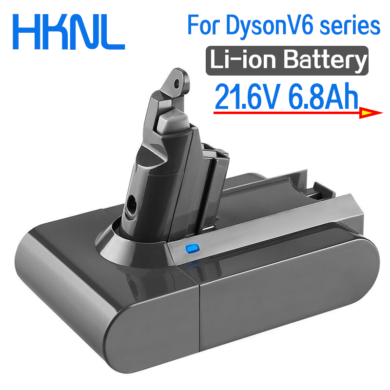 Li-Ion-Battery Vacuum-Cleaner DC59 SV09 DC62 Dyson V6 6800mah for Dc58/Dc59/Dc61/.. title=