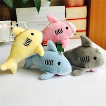 4 цвета Акула плюшевая игрушка кукла детская мини плюшевая игрушка школьная сумка Подвеска сумка автомобильный брелок плюшевая