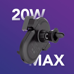 Image 4 - ZMI Kits 20W Wireless Car Charger Phone Holder WCJ10 Fast Charging For iPhone 11 Xiaomi Mi 9 Samsung 360 Degree Phone Holder