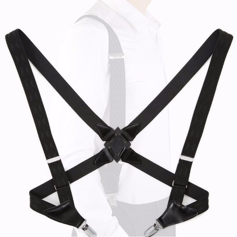 Classic Holster-Suspender Strap Clip Side Clip-Men Suspender Strap Suspenders Adult Suspender Strap