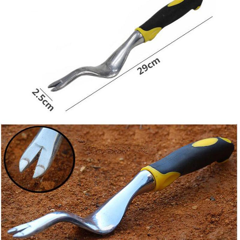 Garden Weeder Hand Weeding Removal Cutter Dandelion Digger Puller Tools New Rgonomic Handle Gardening Tools