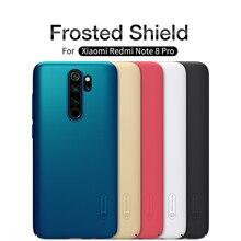 For Xiaomi redmi note 8 Case note 8 pro Case Cover NILLKIN Super Frosted Shield Hard Back Cover Bumper redmi note 8 Phone Holder стоимость
