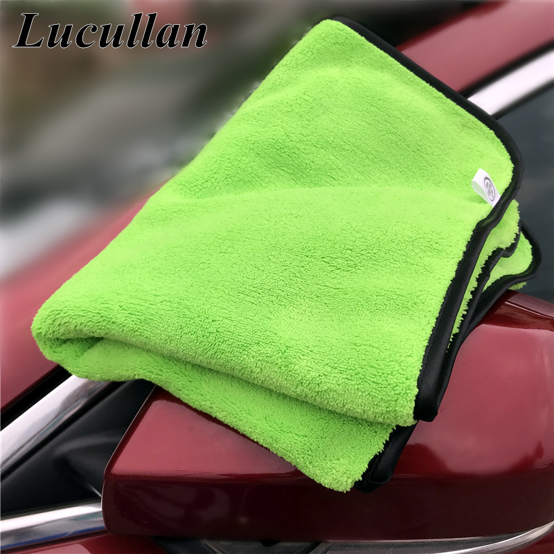 Lucullan Customized For Brand Towels 40X60CM 660GSM Double Side Super Soft Light Weight Drying Towel