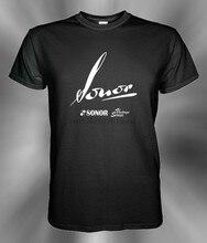 Sonor – t-shirt à manches courtes imprimé avec Logo Vintage, taille S M L XL 2XL 3XL, confortable, bon marché, vente en gros
