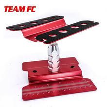 High red Work Stand Assembly Platform 360 Degree Rotate Repair Station for RC 1 8 1