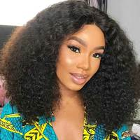 Brazilian Curly Hair Bundles With Closure Remy Human Hair 3 Bundles With Closure Afro Kinky Curly Hair Weaving For Black Women