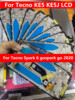 Tested Full Digitizer for Tecno Spark 6 go/spark go 2020 Display with Touch Screen+Frame for Tecno KE5 KE5J LCD Pantalla