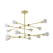 Nordic style chandelier low family floor decoration living room light contracted modern dining lamp art hall lighting
