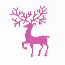 Reindeer Decor Metal Cutting Dies Stencil Scrapbooking Embossing Album Stamp Paper Card DIY Stencils