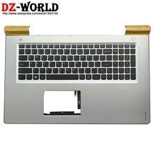 Новый оригинальный корпус C, верхний корпус с подсветкой и английской клавиатурой для ноутбука Lenovo Ideapad 700-17ISK 5CB0K93616