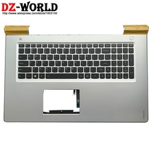 Shell-C-Cover Laptop Lenovo Keyboard Palmrest Ideapad Backlit New with US English