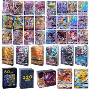 Image 1 - Pokemon Card GX Shining VMAX TAG TEAM Card TAKARA TOMY Game Battle Carte Trading Children Toy