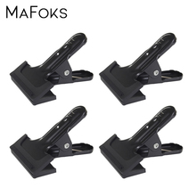 4PCS Strong Spring Clamp Photography Studio Backdrop Clamps Multi function Metal Spring Clamp Background Stand holder Clip