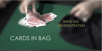 C.I.B. Cards In Bag by Dominique Duvivier, Magic TRickS image