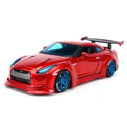 Maisto 1:24 Nissan 2009 GT-R красная спортивная машина статическая литая модель сплава Модель автомобиля