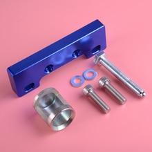 DWCX CNC Aluminum Valve Spring Compressor Tool Blue Fit For Honda Acura B16 B18 H22 VTEC speedwow aluminum adjustable frp fuel pressure regulator kit for honda acura dohc b16 b18 f20
