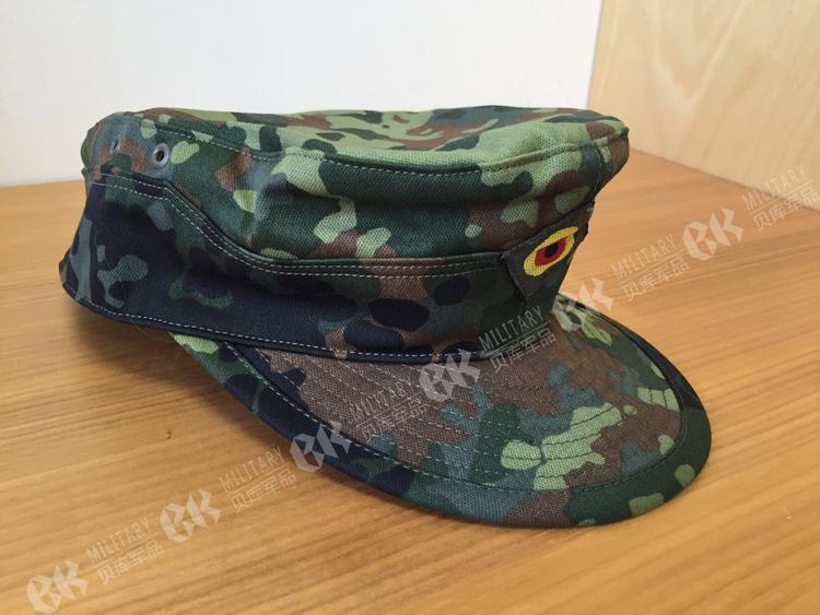 Military German Army Flecktarn Camo Camouflage Field Cap Hat WW2 Military Store