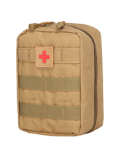 Tactical Medical First Aid Kit Bag Molle Outdoor Emergency Military Package Travel Hunting Portable Survival
