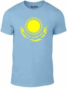 Международная футболка «Kazakhstan»-футболка «Support Your страна» со спортивным флагом бора