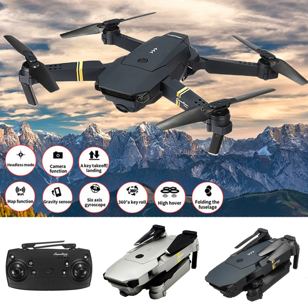 Willkey Camera Drone Quadcopter-Toy E58 1080P FPV WIFI Foldable HD with Wide-Angle Hight-Hold title=