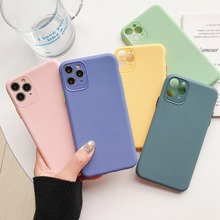 Lens Protection For iphone 11 pro max iphone 6 s 6s plus Candy Color Soft TPU Cover For iphone 8 7 plus iphone xs x 10 xsmax cheap GAGP Fitted Case Cute case for iphone Apple iPhones iPhone 6 Plus IPHONE 6S iPhone 6s plus iPhone 5s iPhone SE iPhone 7
