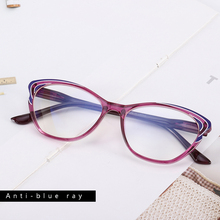 Anti-blue Light Reading Glasses Blue Light Blocking Eyeglasses Women's Presbyopia Eyewear Diopter +1.0 To +3.5