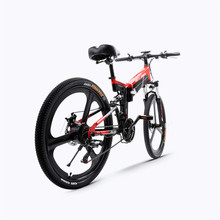 26inch folding electric mountain bicycle 48V 400W high speed ebike Removable lithium battery  Travel assisted electric bike