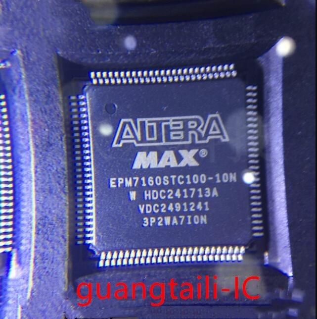 5PCS EPM7160STC100-10N EPM7160STC100-10 EPM7160STC100 EPM7160 QFP-100 Programmable Logic Device