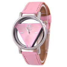 2019 Watch Women Wrist Quartz Modern NEW Luxury Fashion Hollowed-out Triangular Dial Casual Gift For Female Watches Reloj Mujer hot couple lover s watches unique hollowed out triangular dial fashion watch women men fashion dress watch relogio masculino