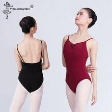 Adult One piece Ballet Leotard Dress Women Ladies Sleeveless Gymnastics Ballet Dance Leotard Ballerina Performance Training Suit