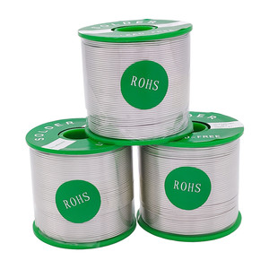 Lead-free Tin Wire High-purity Environment Friendly Solder Wire Sn99.3 Cu0.7 with Rosin Core for Electrical Soldering