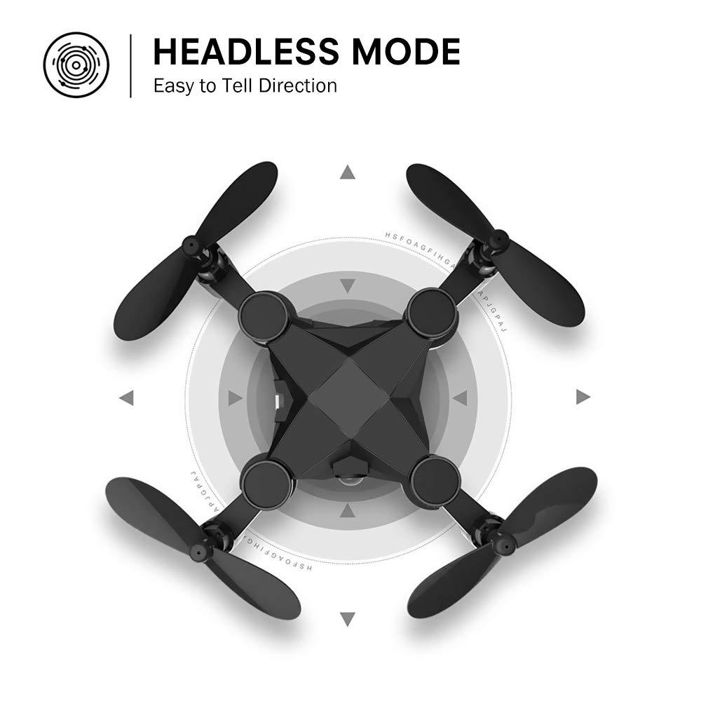 Mini Unmanned Aerial Vehicle 901hs Folding Remote Control Aircraft Set High Aerial Photography Quadcopter Boy Toy