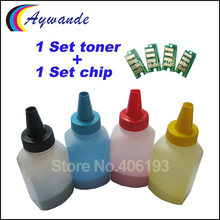Refill toner and chip for Xerox Phaser 6000 6010 WorkCentre 6015 Color toner powder Reset chip(China)