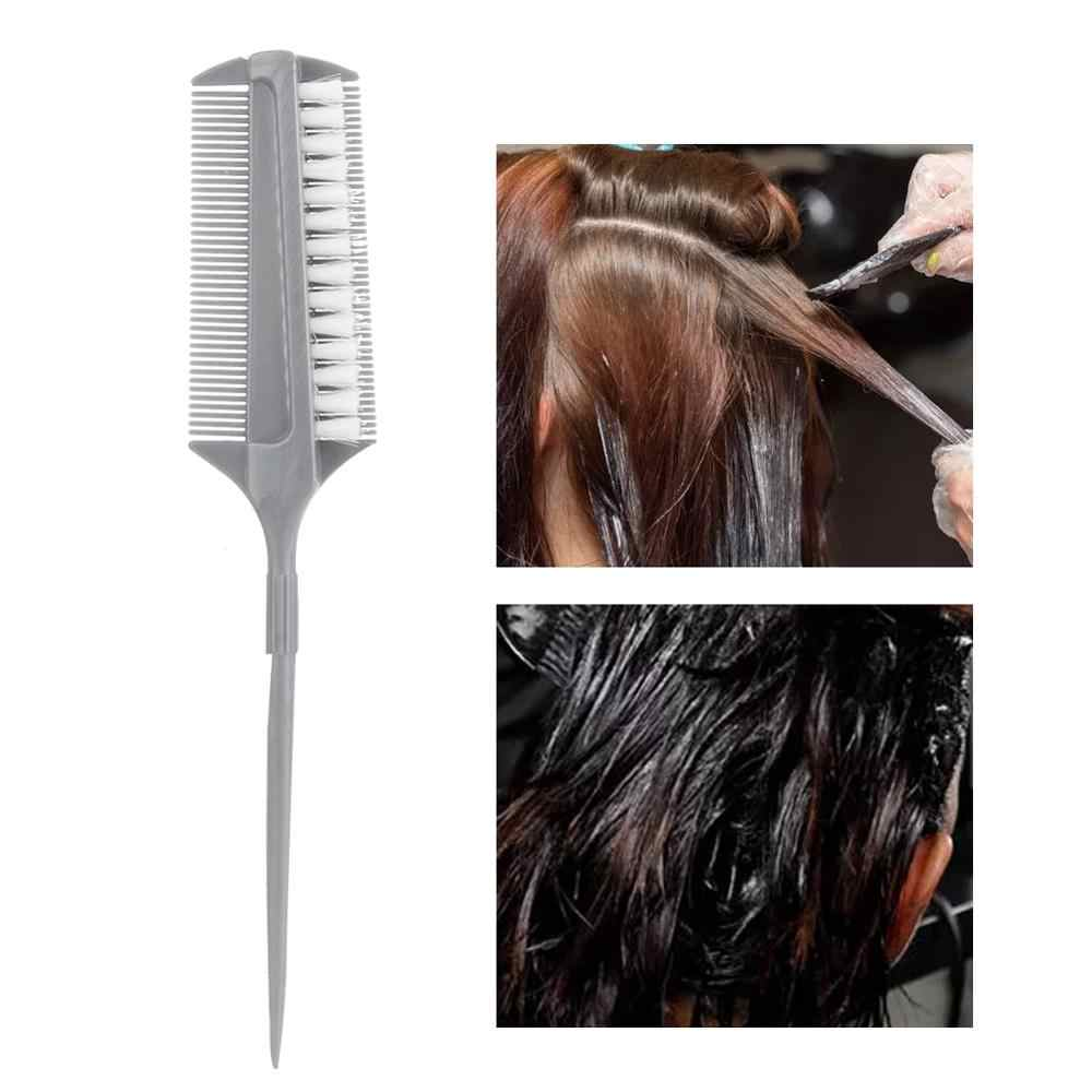 Hair Color Brush Professional Hair Highlight Dye Tool Hairdressing Salon Coloring Brush Comb  For Beauty Salon