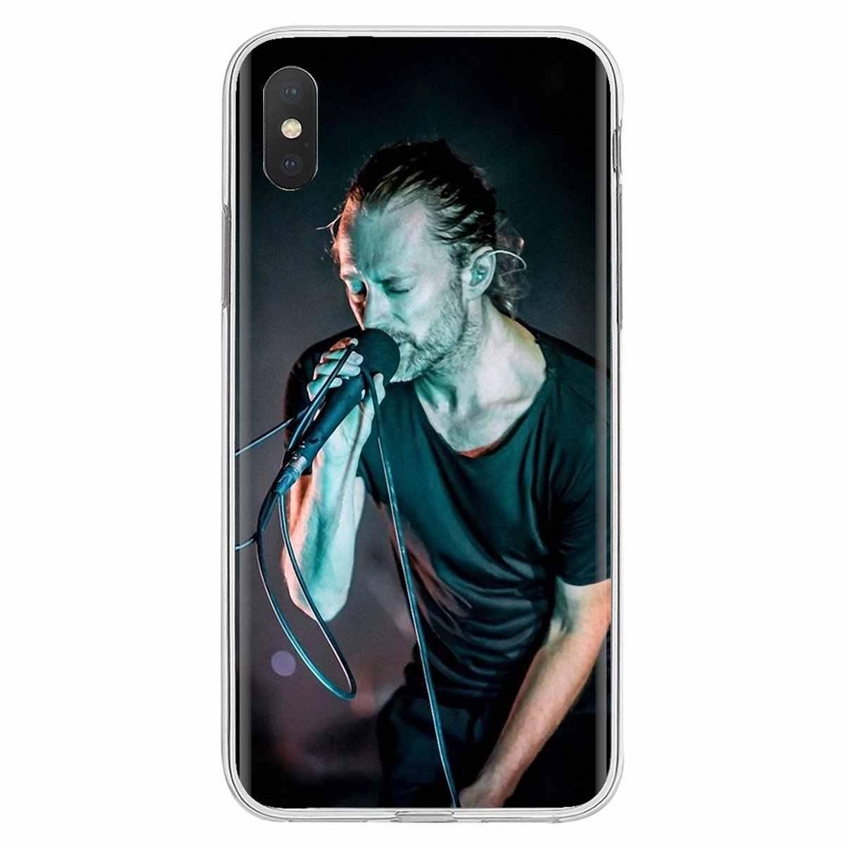 Radiohead Kid Một Thomas Edward Yorke Dành Cho Samsung Galaxy Samsung Galaxy A3 A5 A7 A9 A8 Ngôi Sao Lite A6 Plus 2018 2015 2016 2017 Mềm TPU Bao Bọc Điện Thoại