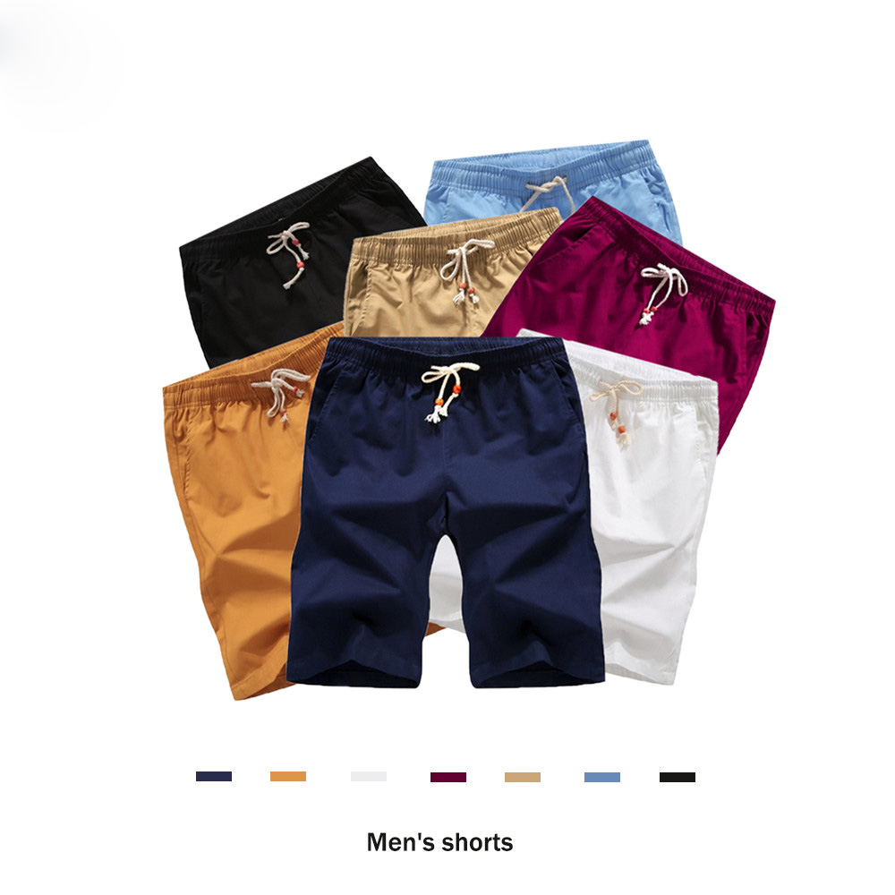 2pcs/lot Plus Size 5XL Summer Shorts Men 2019 Fashion Brand Men Short Pants Fashion Streetwear Shorts Homme Short Slim Fit Men