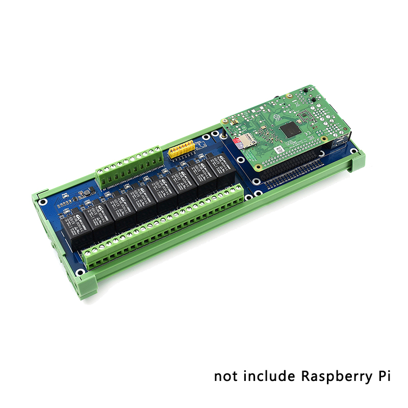 Raspberry Pi 8 Relay Channel Extension Board With Onboard LED For Raspberry Pi 4 Model B/3B+/3B For Smart Home