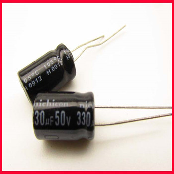 50V 330UF electrolytic capacitor, volume 10*17, pitch 5mm image