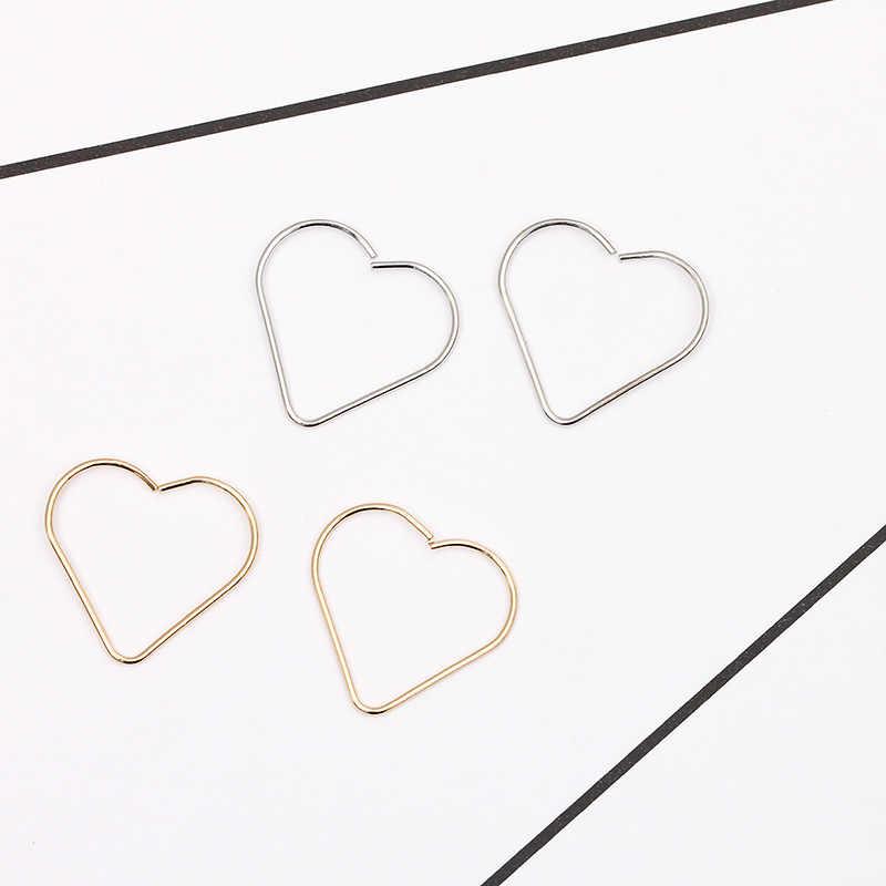 11 różnych kształtów małe kolczyki kobiety złoty kolor biżuteria zaręczynowy klasyczny styl pary stadniny kolczyki