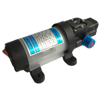 S301 Self-priming electric car wash 12V water pump portable 80W 5.5L/Min high pressure cleaner pump for car wash and watering image