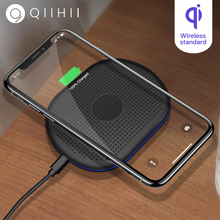 QIIHII 5W Fast Wireless Charger For iphone X XS XR Samsung Qi Xiaomi Phone Huawei