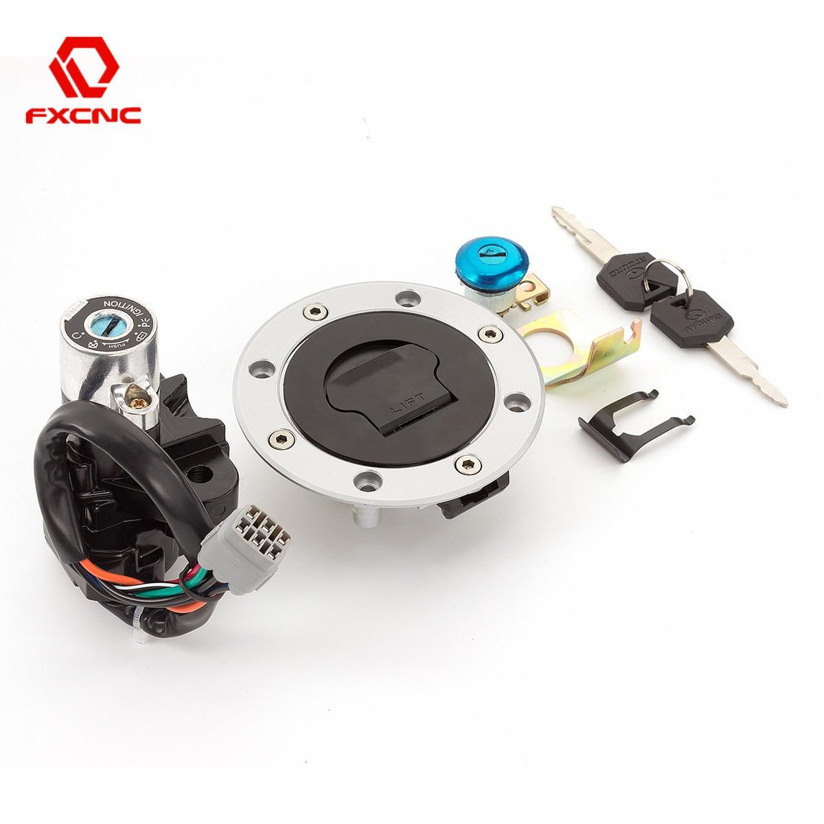Комплект ключей зажигания для Bandit GSF 400 600 1200 TL1000R/S GSX600F GSX750F GSX1400 SV650/S V-открытый DL650