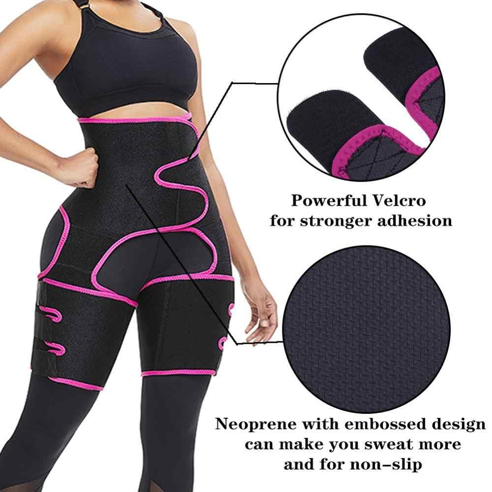 Corset Secret Neoprene Shaperwear Women S High Waist Embossed Thigh Trimmer Tummy Control Sauna Effect Waist Trainer Belt Waist Cinchers Aliexpress
