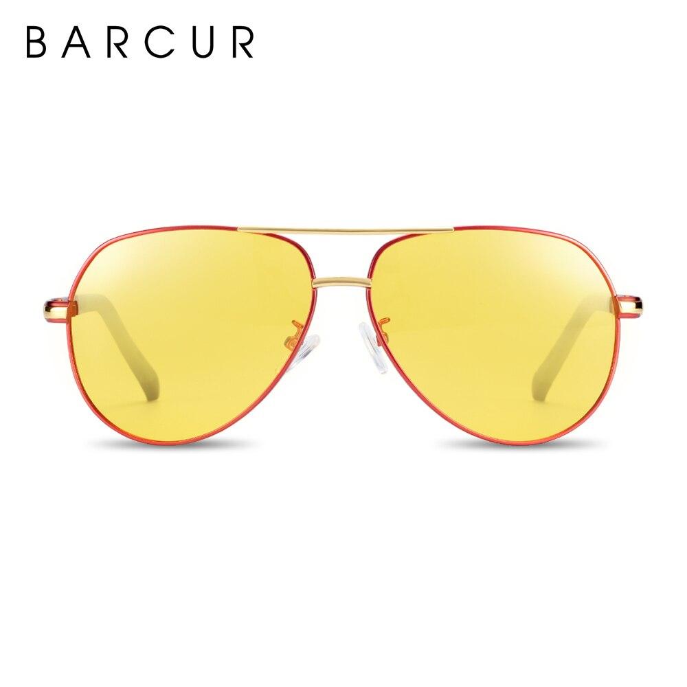Оригинальные очки ночного видения BARCUR, роскошные Брендовые очки для ночного вождения