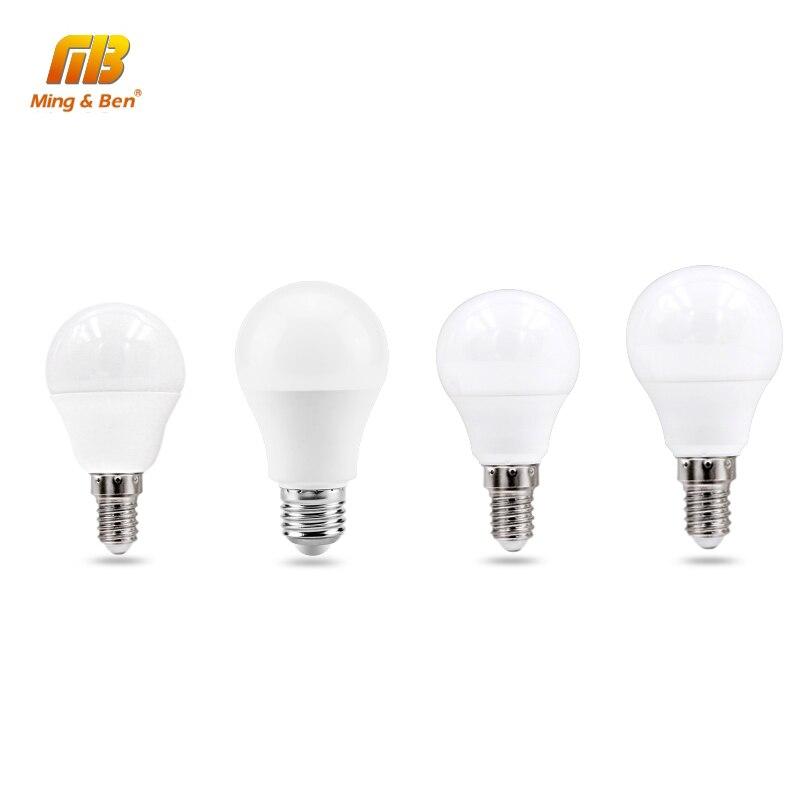 LED Lamp E27 3W 5W 7W 9W 12W 15W 18W E14 LED Light Bulb Warm White Cold White For Home Lighting LED Spotlight Table Lamp Lampada